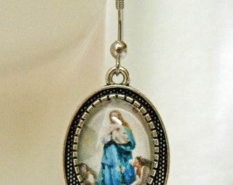 Immaculate conception earrings - AP07-110