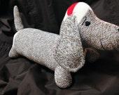 Dachshund Weiner Dog ~ Sock Monkey Doll