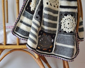 woodwoolstool baby blanket