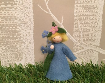Forget me Not Flower Fairy