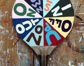Original painted bat: the Fortune Wheel