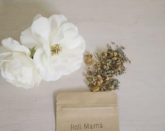 Organic Teething Chamomile & Lavendar Bath Tea for Baby/ Toddler