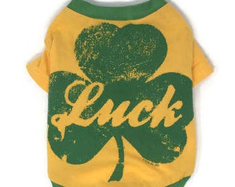 Luck Dog Tee, size Extra Small