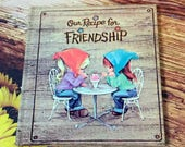 Recipe for Friendship American Greetings Little Collectible Book
