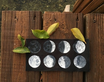 Phases of the Moon patch