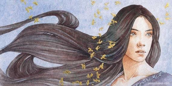 Lúthien *Original painting*
