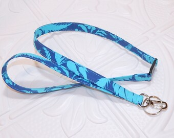 Blue Breakaway Lanyard - Key Lanyard - Teacher Lanyard - Id Badge Holder