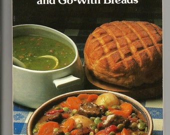 1982 Betty Crocker Picture Cookbook Soups Stews Go With Bread Recipes Small Paperback 80s Kitchen Golden Cook Book