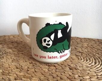 Vintage Houze USA  T Morrison Panda Cup/Mug