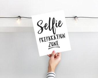 Makeup Printable, Makeup Art, Makeup Quote, Vanity Decor, Makeup Lover, Makeup Gift, Bathroom Decor, Selfie Quote, Prep, Instant Download