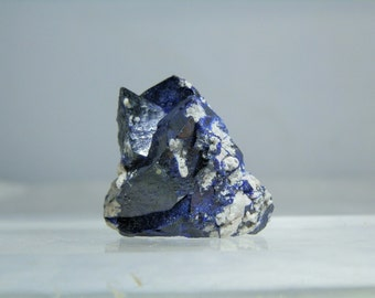 Rich Blue Azurite Crystals Display Collectible Mineral 152 carats Quality Rare Specimen from Milpillas Mexico Closed Mine DanPickedMinerals
