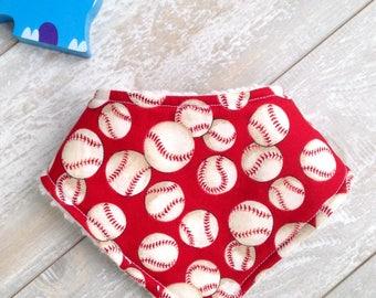 Baby Toddler Boy Girl Vintage Baseball Bib, Drool Bib, Baby Shower, Baby Gift, For Baby, Gender Neutral