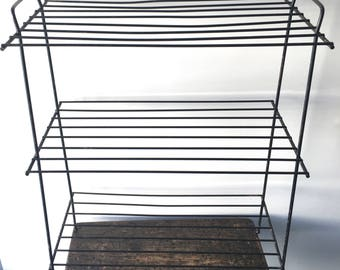 Mid Century Wire Rack, Plant Stand, Display Stand