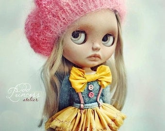 Last one!!! Blythe Set VINTAGE CANDY CIRCUS By Odd Princess Atelier, Sweater, Skirt, Beret, Special Outfit
