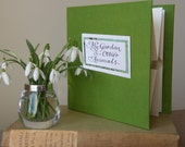 My Garden and other Animals - a limited edition pop-up artists' book