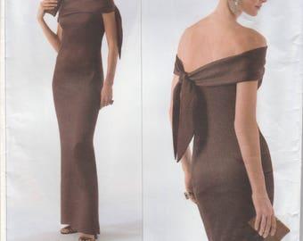 Oscar de la Renta Evening Dress Pattern Vogue 2773 Sizes 12 - 16 Uncut