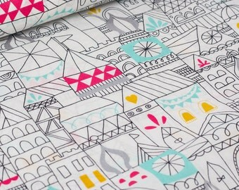 Sale | Revelry organic cotton fabric by Cloud9 - Hamlet voile - 1/2 YD