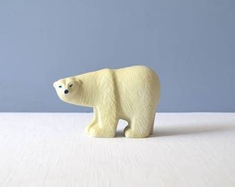 Vintage Gustavsberg Lisa Larson Curious Polar Bear Figurine