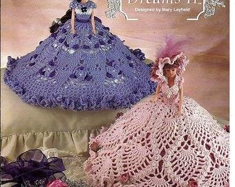 Sweet Dreams II Crochet Pattern for 11 1/2 inch Fashion dolls The Needlecraft Shop 981027