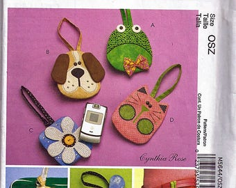 Cell Phone Case / Original McCall's Fashion Accessories Uncut Sewing Pattern M5644