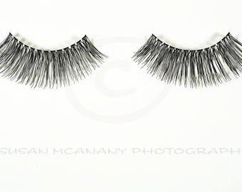 Eyelash Clipart, Photo of Fake Eyelashes, PNG Transparent Background, Fake Eyelash Photo, Website Banner, Eyelash Clip Art, Scrapbooking