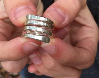 Silver Wrap Ring