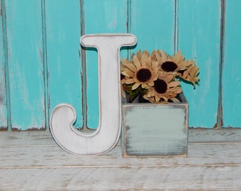 Wooden Letters Distressed Wood letters Wall Letters Made To order Photo Props