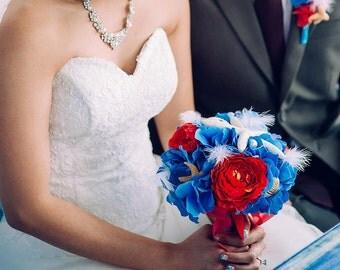 Beach Wedding Bouquet, Starfish Wedding Bouquet, Destination Wedding, Bridal Bouquet - Custom Order