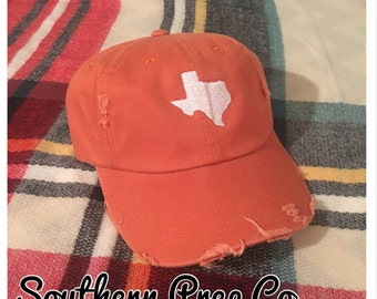 ANY STATE Distressed Baseball Cap