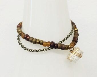 Urban Hope Mixed Bronze Bracelet