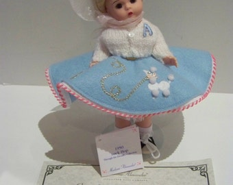 1950 Sock Hop Madame Alexander 8 in doll mint Limited edtion