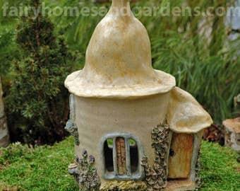 Hand-sculpted Fairy House