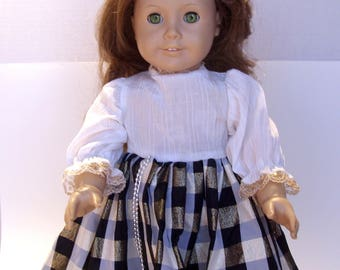 American Girl Doll Original Felicity Red Hair Green Eyes Pleasant Company