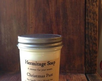 Christmas Past : Soy Candle, Candle, Container Candle, Christmas candle