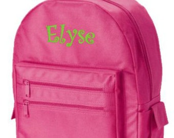 Girls Backpack, Toddler Backpack, Preschool Backpacks, Personalized Backpacks, Backpack for Girls, Back To School, Embroidery Gifts