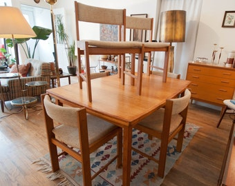 Danish Modern Dining Set by D-Scan