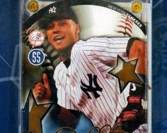 24K Gold Replica Signature Derek Jeter Yankees