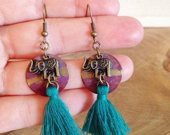 Earrings to Honor Ganesha
