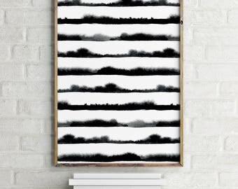 Abstract Minimal Print, Scandinavian Print, Digital Download Large Downloadable Poster, Instant Download, Minimal Design Print