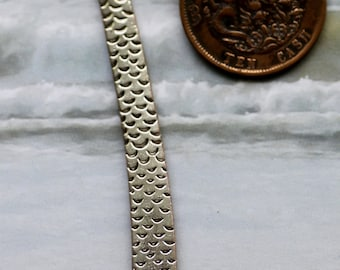 Genuine Vintage Coin Bookmark, China, chinese, Cash Coin with Dragon, handmade