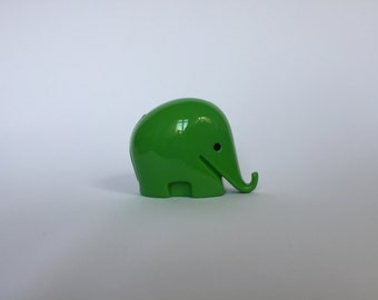 Vintage Colani Style Elephant Piggy Bank. Space Age. Green. German. Piggy Bank. Drumbo. Germany. 2017_020
