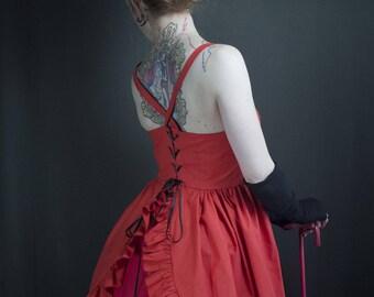 Red kawaii dress