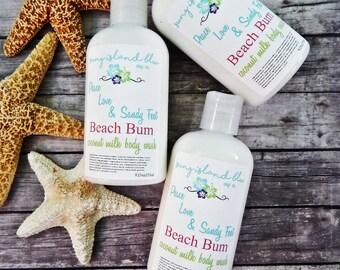 Beach Bum Shower Gel - Body Wash - Liquid Soap - Body Wash Gel - Soap - Vegan Body Wash - Bath Gel - Bath Soap - Coconut Milk Soap