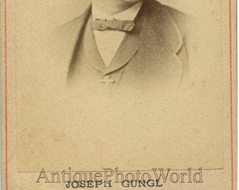 Joseph Gungl Hungarian composer antique CDV photo Hungary