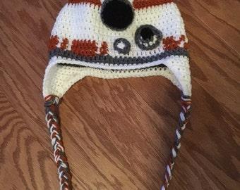 BB8 Hat ~ Star Wars Hat ~ Kids Hat ~ Winter Hat ~ Kids Gift ~ Star Wars Fan Gift ~ BB8 Gift ~ Kids Winter Hat ~ BB8 Winter Hat