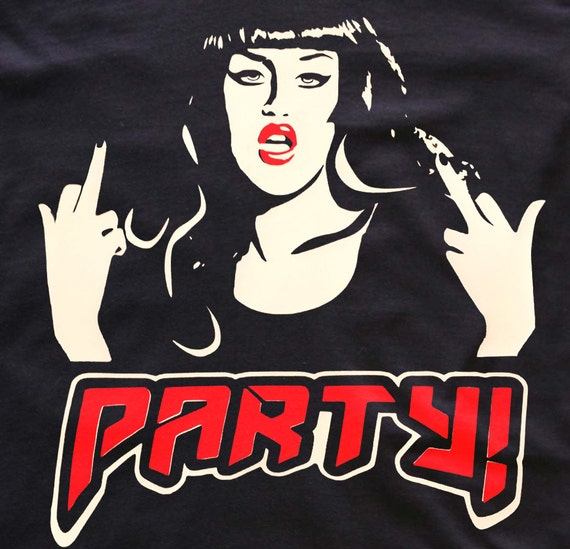 Adore Delano 'PARTY' T-shirt Rupaul's Drag Race T-Shirts / dress/ tops
