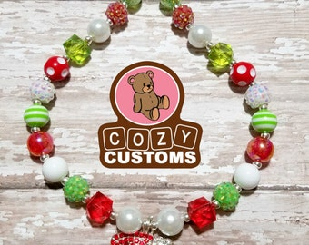 Grinch Mini Chunky Necklace