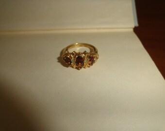 AVON Size 7 Vintage metal Ring