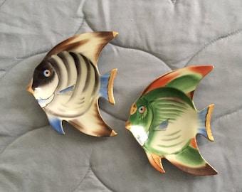Tropical Fish Wall Plaques