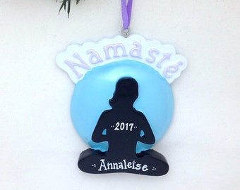 Yoga ornament | Etsy